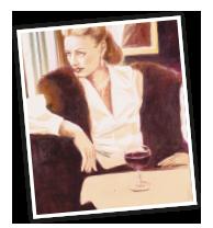 Keyvisual Paasburgs, Bild Frau im Cafe