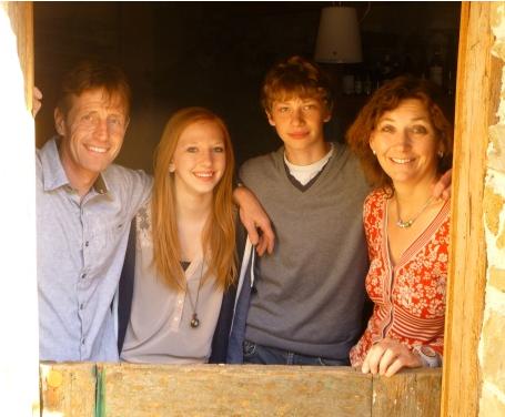 Die Familie Schlumberger auf ihrem Privat-Weingut