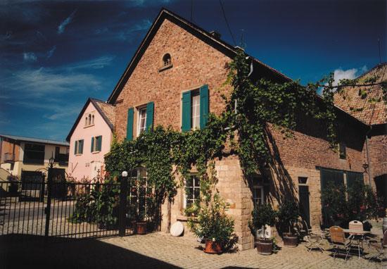 Weingut Johanninger-Wohnhaus-Rheinhessen