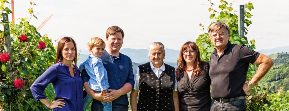 Familie Wohlmuth aus der Südsteiermark